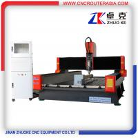 Buy cheap Stone Engraving CNC Router with servo system and 4-axis NcStudio ZK-1325 product
