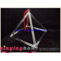 Buy cheap Quartz crystal singing pyramid for unmusical entertainment product