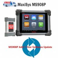 Buy cheap Original Autel MaxiSys Pro MS908P Wifi OBD Full System Diagnostic with MaxiFlash Elite J-2534 programming from wholesalers