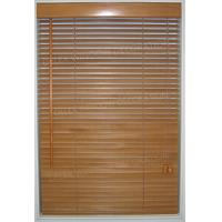 Buy cheap 25mm Slat Basswood Venetian Blinds Timber Window Blinds from wholesalers