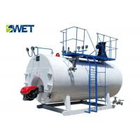 Energy Saving Oil Fired Hot Water Boiler 95.36% Efficiency ISO9001 Approval