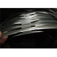 Buy cheap High Tensile Razor Barbed Wire For Security Fence Customized Size / Color from wholesalers