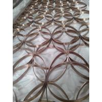 Buy cheap Gold Stainless Steel Perforated  Panels For Facade/Wall Cladding/ Curtain Wall/Ceiling from wholesalers
