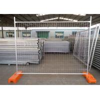 Buy cheap Metal Frame Material High Security 4mm Wire Hot Dipped Galvanized Australia Temporary Fence from wholesalers