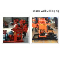 Hydraulic Water Well Drilling Rig 180m Depth Drilling For Geotechnical Investigation