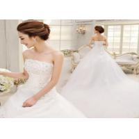 Buy cheap Bud silk  Ladies  Wedding  Dresses  Fishtail wedding dress Hot style from wholesalers