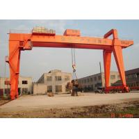 Buy cheap 100 Ton A Frame Double Girder Gantry Crane Heavy Duty For Big Tonnage Port from wholesalers