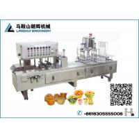 Buy cheap Automatic Jelly | Fruit juice Cup Filling and Sealing Machine from wholesalers