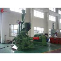 Buy cheap 1500kg / h 400KW Alloy wear ring 160L Internal Mixer Machine Thin oil lubrication system from wholesalers