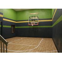 Buy cheap Artificial Maple Hardwood Gym Flooring Noise Insulation For Basketball Court from wholesalers