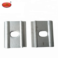 Buy cheap Railway Parts Baffle Plate Railway Equipment Railway Gauge Baffle For Railroad Fasteners from wholesalers