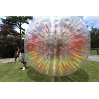 Buy cheap Customized Red Inflatable Zorb Ball , Inflatable Pool Zorb Hamster Ball from wholesalers