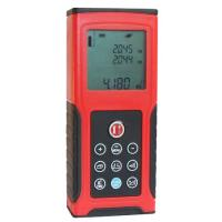 Buy cheap Available Digital Laser Distance Meter CB-0058, Dip Angle Measurement Range is ±45° product