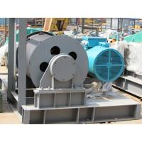 Buy cheap 5 Ton Boat Marine Electric Winch , Double Drum Electric Winch Fast Line Speed Cable Pulling from wholesalers