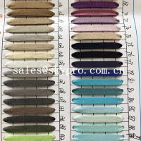 Buy cheap Resistant  PU Synthetic Leather soft leather fabric materials from wholesalers