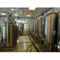 Buy cheap Stainless steel or copper 300L beer brewing machine for craft beer micro brewery from wholesalers