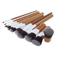Buy cheap Custom Eco Bamboo Makeup Brushes / Woman High End Travel Makeup Brushes product
