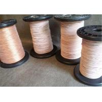 Buy cheap 0.1 - 1.0 mm Super Fine Litz Magnet Wire , Copper Litz Wire For Inductive Heating from wholesalers