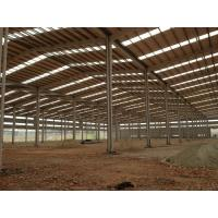 Buy cheap Customized H Beam Prefabricated Workshop Steel Structure / Rigid Steel Frame from wholesalers