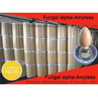 Buy cheap Animal Nutrition Feed Grade Fungal Alpha Amylase Enzyme 100,000U/G SINOzym-FAA100FE from wholesalers