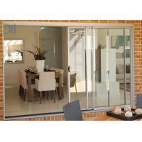 Buy cheap Balcony Weather Resistant Aluminium Sliding Doors Double or Three Tracks from wholesalers