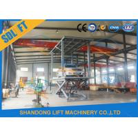 Buy cheap 3T 2.5M Double Deck Car Parking Lift 2 Cars Hydraulic Scissor Lift for Basement from wholesalers