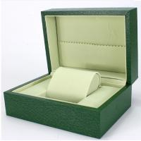 Buy cheap Green Paper Watch Box / Jewelry Wooden Box Packaging Eco-friendly from wholesalers