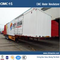 Buy cheap CIMC tri-axle 48ft dry van trailer 50 tons from wholesalers