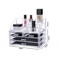 Buy cheap Moisture Proof Clear Makeup Storage Containers Lipstick Cosmetic Display Stand from wholesalers
