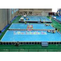 Buy cheap Multifunctional Metal Frame Pools , Garden Swimming Pool For Play Fun product