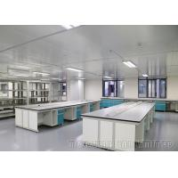 Buy cheap 13mm Thick Gray Phenolic Resin Laboratory Work Benches Steel And Wood Structure from wholesalers