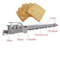 Buy cheap Automatic small scale soft and hard biscuit soda cracker maker machine production line from wholesalers