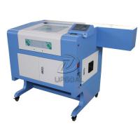 Buy cheap Small 60W Acrylic Leather MDF Co2 Laser Cutting Machine 500*400mm from wholesalers