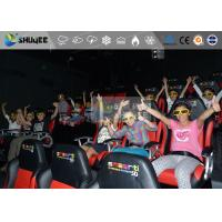 Buy cheap Amazing 7d Simulator Cinema With Pneumatic / Hydraulic / Electronic Systems product