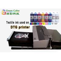 Buy cheap Direct Printing Dark Cotton t Shirt Water Based Pigment Ink For Dtg Printer from wholesalers