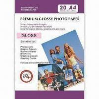 Buy cheap 260gsm Semi-Gloss Premium Photo Paper, Suitable for Thermal and Piezo Technology product