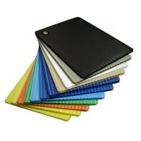 Buy cheap Impact resistant Reusable PP Corflute Board plastic corrugated sheeting from wholesalers
