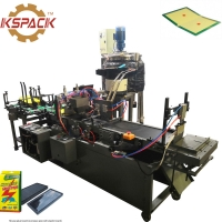 Buy cheap Full Automatic Rat Glue Trap Making Machine 6000pcs/Min Mouse Killer Coating Glue Machine from wholesalers