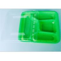 Buy cheap Four Compartment PP Food Tray Food Takeaway Packaging For Dinner , Ce Certificate from wholesalers