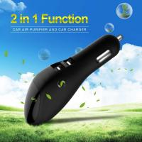 Buy cheap Intelligent LED USB Car Charger Air Freshener 103 Mm X 33 Mm X 32 Mm Size from wholesalers