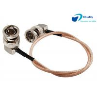 Buy cheap Lanparte HD SDI Video Cable BNC Male Right to BNC Right Angle Plug Pigtail Coaxial Cable RG179 from wholesalers