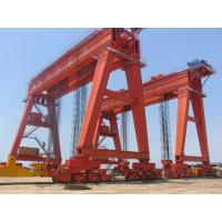 Buy cheap 50 ton  double gantry girder gantry crane with double girder  good price from wholesalers