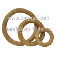Buy cheap Straw Handicraft wreath from wholesalers