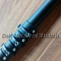 Buy cheap Anti spin carbon fibre telescopic pole with scratch matte finish and smart locking system from wholesalers