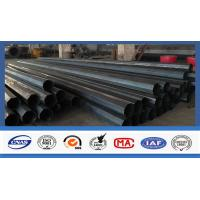 Buy cheap Polygonal Shape Electrical Power Pole Hot Dip Galvanized Steel Tubular Poles product