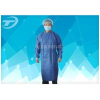 Buy cheap Water Resistant PP Disposable Scrub Suits / Isolation Gowns with knitted cuffs from wholesalers