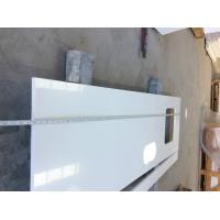 Buy cheap White bathroom vanity with quartz top solid surface vanity tops Quartz Stone Thickness 2cm and 3cm Quartz Stone from wholesalers