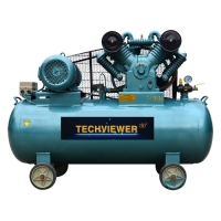 Buy cheap Belt Driven 10 HP Portable 4 Cylinder Air Compressor from wholesalers