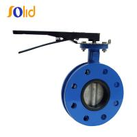 Buy cheap U Type Double Flange Butterfly Valve with Lever Operator from wholesalers