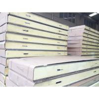 Buy cheap Polyurethane / PU Cold Room Insulation Panels For Wall / Roof Materials from wholesalers